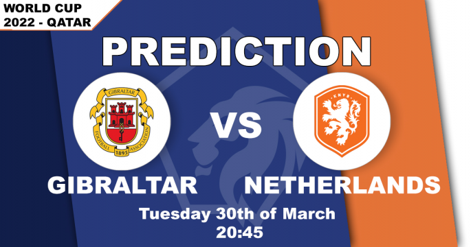 World Cup 2022 Qualifier: Gibraltar vs Netherlands