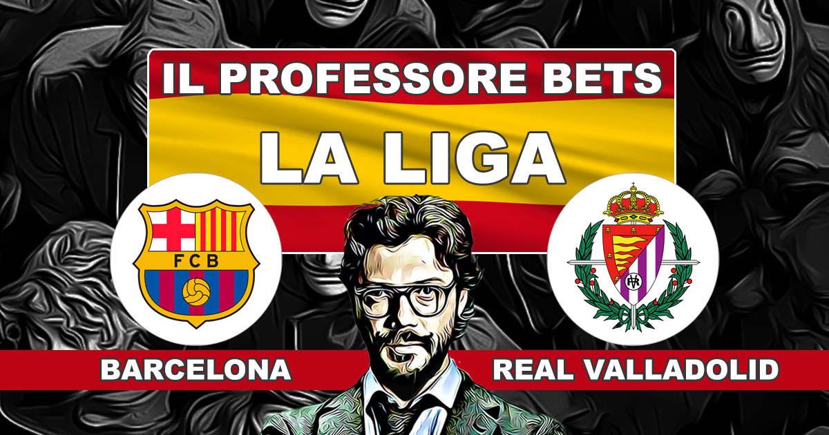 LA LIGA: Barcelona vs Real Valladolid