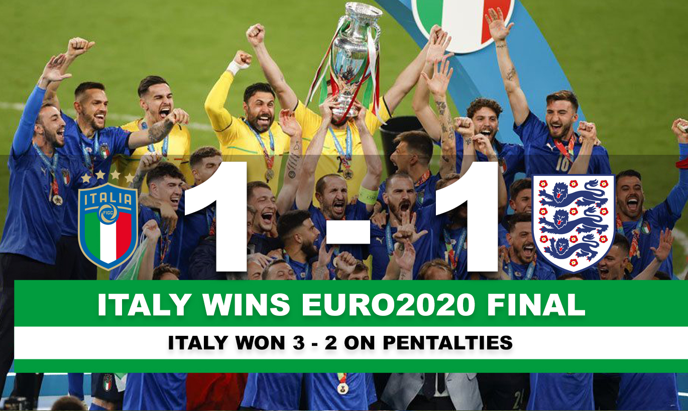 Italy wins the cup!