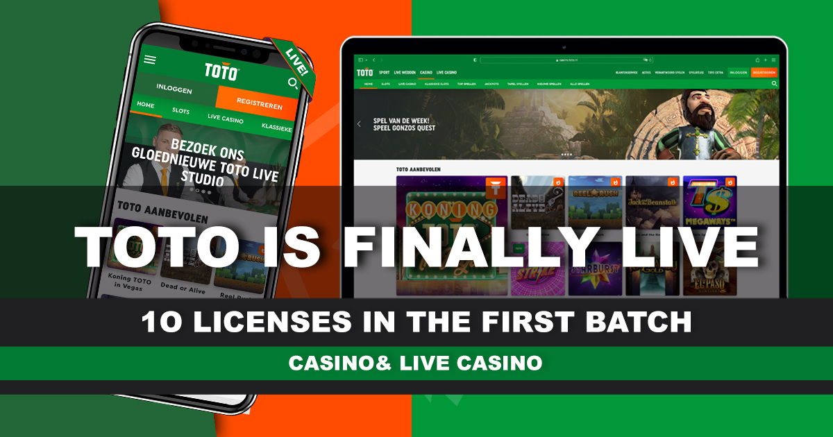 TOTO is finally live!