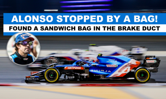 Sandwich bag brought Alonso´s comeback in F1 to an end!