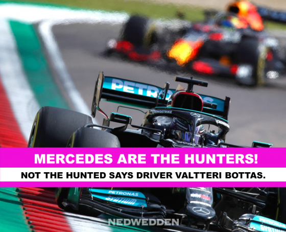 F1: IMOLA PRACTISE - Mercedes are the hunters!