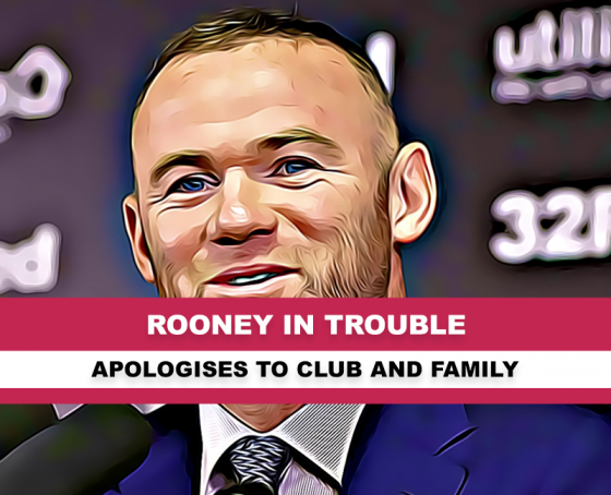 Wayne Rooney in rouble over images
